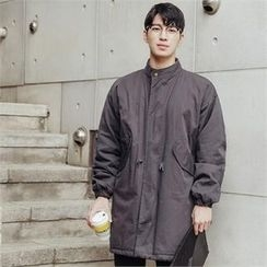 STYLEMAN - Quilted Lined Long Jacket