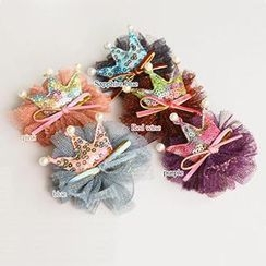 Chapa - Kids Crown Pattern Hair Clip