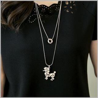 OrangeBear - Double-Row Necklace