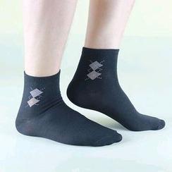 MUMBLE - 菱格袜子
