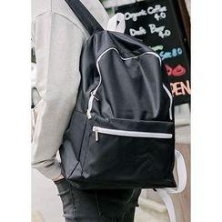 JOGUNSHOP - Contrast-Trim Backpack