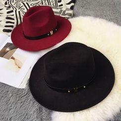 Pompabee - Wool Fedora Hat