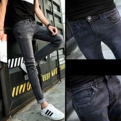 Denimic - Fleece Lined Skinny Jeans