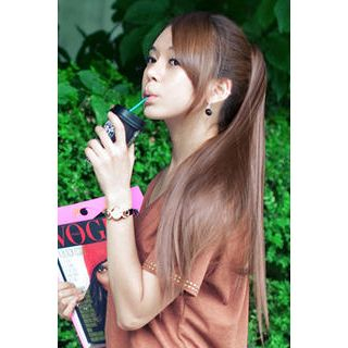 Claw Long Hair Ponytail - Straight