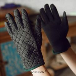 Lose Show - Quilted Paneled Gloves