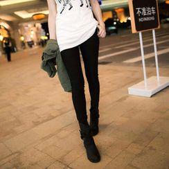Tokyo Fashion - Elastic-Waist Skinny Pants