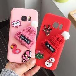 Casei Colour - Beanie Detail Mobile Phone Case - Samsung Galaxy S7