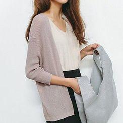 Meimei - Open-Front Cardigan