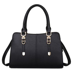 BeiBaoBao - Faux-Leather Satchel