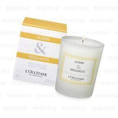 L'Occitane 欧舒丹 - 茉莉 & 佛手柑香氛蜡烛