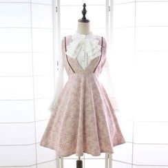 Reine - Plaid Pinafore Dress