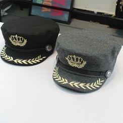 SOCOOL - Embroidery Flat Cap