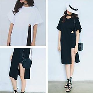 Champi - Side-Slit T-Shirt Dress