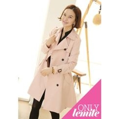 Lemite - Double-Breasted Trench Coat
