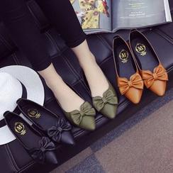 Sunsteps - 蝴蝶结平跟鞋