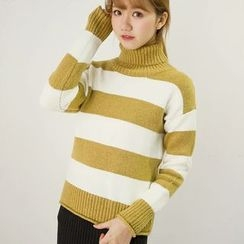 Honey House - Stripe Knit Top