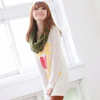 Tokyo Fashion - Printed Long Knit Top