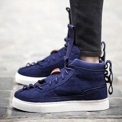 Preppy Boys - High-Top Sneakers