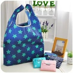 Momoi - Foldable Star Print Shopper Bag