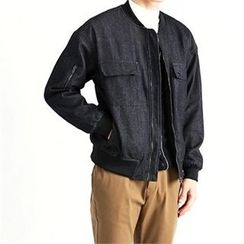 THE COVER - Flap-Pocket Zip-Up Jacket