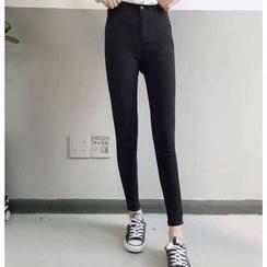 monroll - 高腰窄身牛仔裤