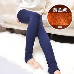 Janci - Fleece-Lined Stirrup Leggings