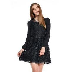 O.SA - Lace A-Line Dress