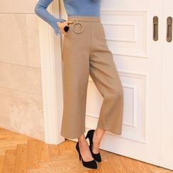 PPGIRL - Ring-Detail Dress Pants