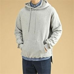 THE COVER - Hooded Raglans-Sleeve Pullover