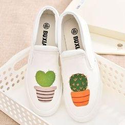 BUDING - Cactus Slip-Ons