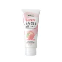 Kracie - Kracie Naive Deep Cleansing Foam (Peach)