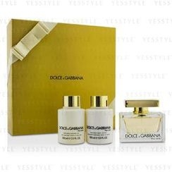 Dolce & Gabbana - The One Coffret: Eau De Parfum Spray 75ml/2.5oz + Body Lotion 100ml/3.3oz + Shower Gel 100ml/3.3oz