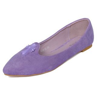 yeswalker - Cross-Accent Pointy Flats