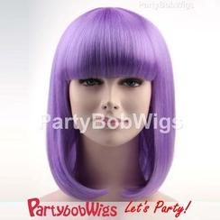 Party Wigs - PartyBobWigs - 派对BOB款中长假发 - 紫色