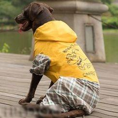 hipidog - Hooded Dog Rain Coat