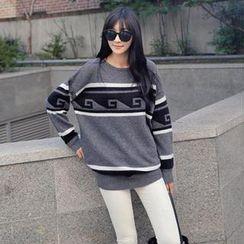 REDOPIN - Wool Knit Sweater