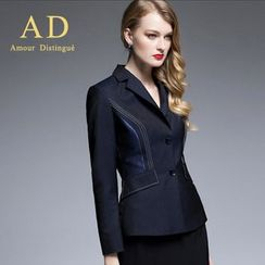 Aision - Stitched Blazer / Pencil Skirt / Trousers