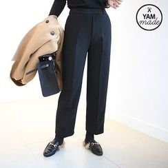 STYLEBYYAM - Band-Waist Dress Pants