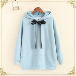 Fairyland - Ribbon Accent Hooded Pullover