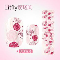 Litfly - Nail Sticker (K1044)