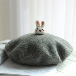 EVEN - Rabbit Accent Beret