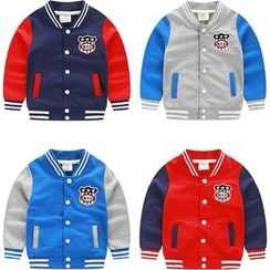 Seashells Kids - Kids Patch Baseball Jacket