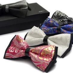 Romguest - Patterned Bow Tie