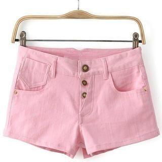 JVL - Buttoned Shorts