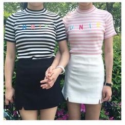 MePanda - Slit Mini Skirt