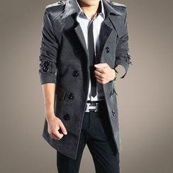 Blitz - Woolen Long Coat