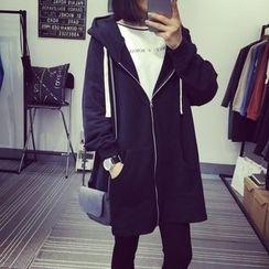 IndiGirl - Long Hooded Jacket