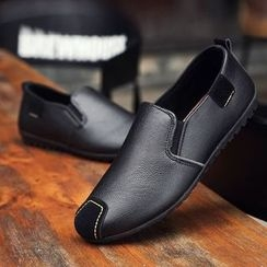 Araeo - Faux Leather Loafers
