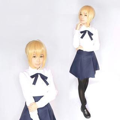 Ghost Cos Wigs - Fate/stay Night Saber Alter Cosplay Costume