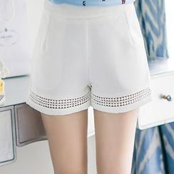 Romantica - Cutout Shorts